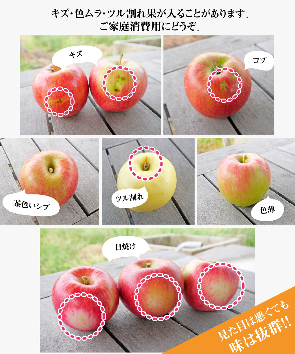 おまかせりんご商品説明4